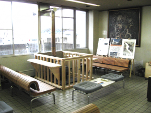 長野県諏訪地上事務所 市民待合室
