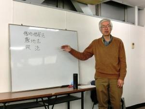講師:NPO法人上田市民エネルギー 合原亮一さん